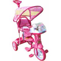 Triciclo 2 En 1 Rainbow Rosa