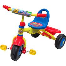 Triciclo Azul Plegable De Facil Guardado En Automovil Hwo