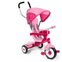 Triciclo Radio Flyer 4-in-1 Trike, Pink