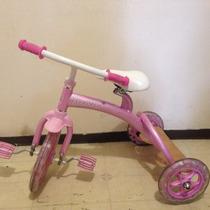 Excelente Triciclo Fancy Benetto Rosa