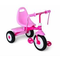 Triciclo Radio Flyer Girls Fold 2 Go Trike, Pink