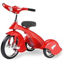 Triciclo Retro Clasico Rojo P/ Niños 2-5 Años Envio Gratis