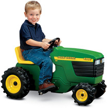 Tractor Juguete Jhon Deere Tractorcito Niños Pedal Maa