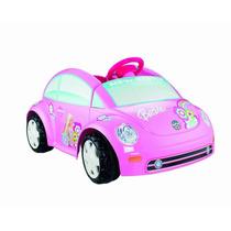 Carrito Montable Juguete Power Barbie Volkswagen Niñas Hm4