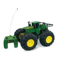 Juguete Tractor De Control Remoto Jhon Deere Monster Hm4