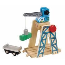 Ferrocarril De Madera - Toys For Play Tren De Juguete Cargam