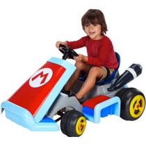 Increible Coche Montable Mario Kart 7 Electrico Nintendo