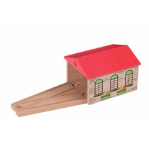 Tren Motor Shed Juguete - Toys For Play De Madera Conjunto D