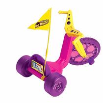 Triciclo De Big Wheel Racer Para Niña 3-8 Años