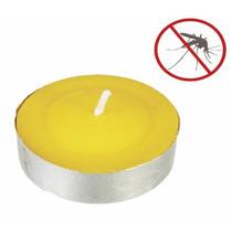 Citronela Velas Tea Light 10 Pzas Aroma Cítricos Flotantes