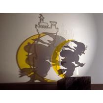 Vela Proyector - Sombra Luz Bruja Bailando Tealight