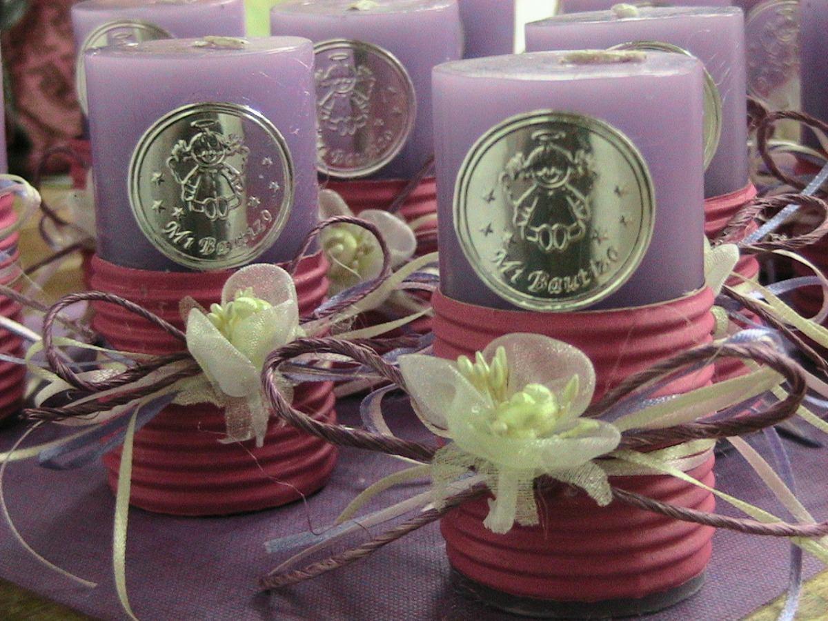 Como decorar velas para bautizo imagui - Como decorar velas ...