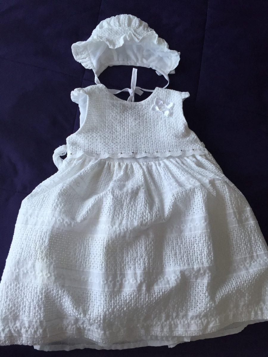 Vendo Hermoso Vestido De Bautizo Para Bebe Niña - $ 600.00