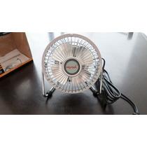 Ventilador Personal Metalico Cromado 4 Pulgadas Mn4