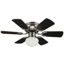 Ventilador Tipo Abanico 30 Con Luz Y 6 Aspas Doble Vista Mf