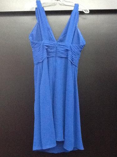 Vestidos De Baño Azul Rey:Vestido Para Dama De Honor Eva Brazzi Talla 6 (m) Azul Rey – $ 89000