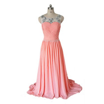 Baituya Vestido De Boda De Noche De Baile Rosa Elegant