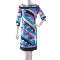 Vestido De Colores Donna Morgan