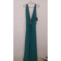 Vestido Noche Verde Talla 4