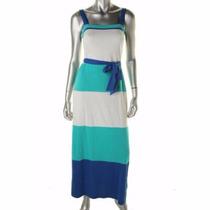 Vestido Maxidress Tommy Hilfiger Mediano Original