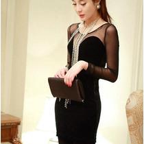Vestido Corto Moderno Elegante Moda Japonesa 4
