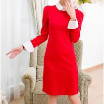Vestido Corto Casual Estilo Retreo Elegante Envío Gratis 837