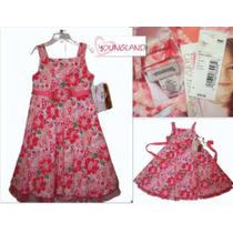 Envio Vestido Nina Hermoso Rosa Coral Tallas 4 O 5 Nuevo