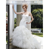 Espectacular Vestido De Novia Corte Sirena Pichelina