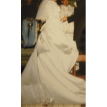 Sobrio Y Clasico Vestido De Novia Ivory 11-13-15