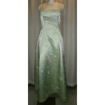 Vestido Fiesta T.28/29, Verde , Bordado, Elegante, Jasjas