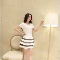 Vestido Corto Fashion Estilo Único Sexy Moda Japonesa 964