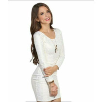 Vestido Blanco Bershka Zara Guess Pull & Bear Dkny