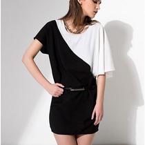 Vestido Blusón Corto Casual Moda Japonesa Envío Gratis 1257