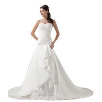 Vestido Blanco De Novia Strapless Marca George Bride