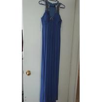 Elegante Vestido Rue De La Paix, Azul, Chico