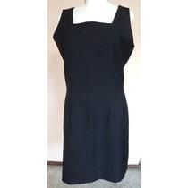 Vestido Negro De Corte Clásico Talla M ...... Vt141