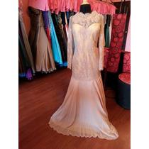 Vestido Fiesta Noche Alta Costura Morrell Maxie Talla 16