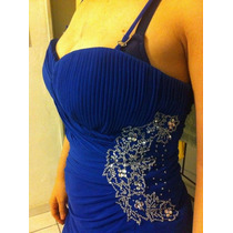 Vestido Azul Liz Minelli. Formal ¡hermoso!