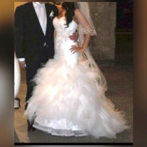 Espectacular Vestido De Novia Corte Sirena Marca Pichelina