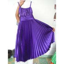 Vestido De Fiesta Talla 12 Niña