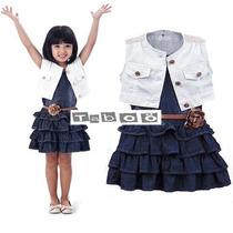 Taboö Kid - Conjunto Vestido De Niña 3 Piezas - 1188