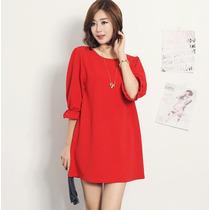 Vestido Corto Moda Coreana Casual Envío Gratis 2190