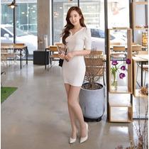 Vestido Elegante Formal Moda Asiática Envío Gratis 2209