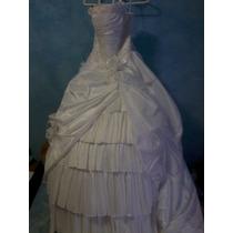 Precioso Vestido De Novia Seminuevo De Eleganzza Sposa