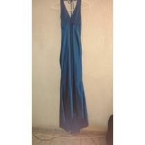 Vestido De Fiesta Azul Turquesa