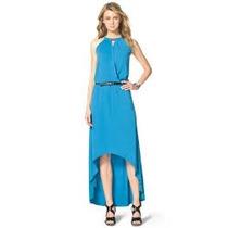 Hermoso Vestido Mk Michael Kors Azul 100% Original