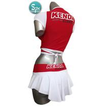 Uniformes Para Edecanes, Modelo Fb501 Short,falda Y Blusa