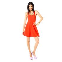 Catwalk88 - Vestido De Tirantes - Naranja - Cw88-08140499