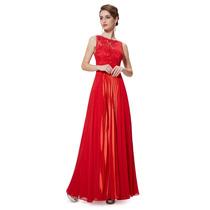 Baituya Vestido De Boda De Noche De Baile Rojo Elegant