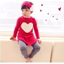 Bonito Vestido De Corazon Para Niña Promocion Moda Asiatica